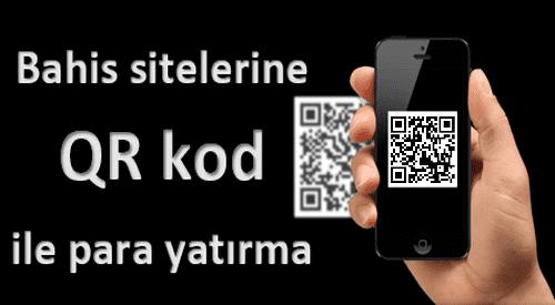 QR kod kabul eden bahis siteleri